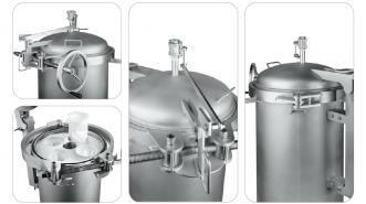 不锈钢袋式过滤器的结构及工作特点