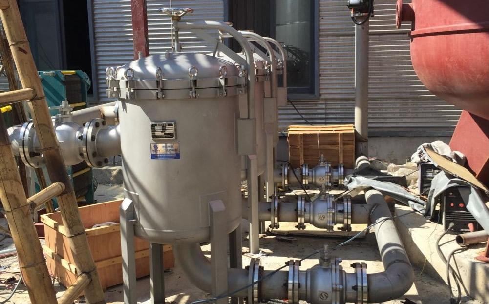 思滤袋式过滤器在树脂行业的应用现场